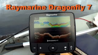 Raymarine dragonfly 4 pro fishfinder chartplotter combo with c-map essentials