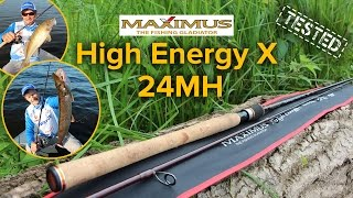 Спиннинг maximus high energy-x mshex24h 240 20-60