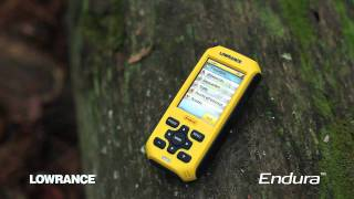 Lowrance endura out and back gps