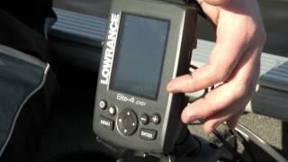 LOWRANCE Elite-9 CHIRP Fishfinder and Chartplotter Combo with Navionics Plus Card