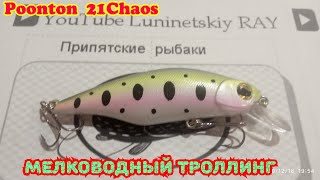 Воблер minnow pontoon 21 moby dick 100 f sr
