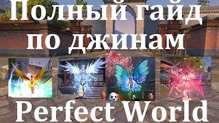 Perfect world как собрать джина для мага