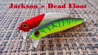 Воблер jackson dead float 80f miw
