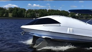 Looker 350 glass bottom boat for sale