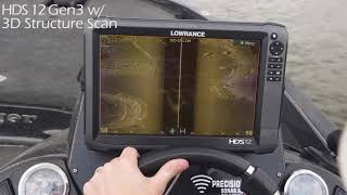 Lowrance structurescan hd sonar imaging system