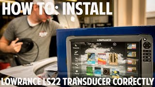 Lowrance transducer only for lss-2 structurescan hd