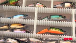 Воблер рапала bx jointed shad rap
