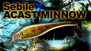 Воблер себиль acast minnow 135mr nk2